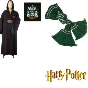 AUTHENTIC SLYTHERIN ROBE/SCARF